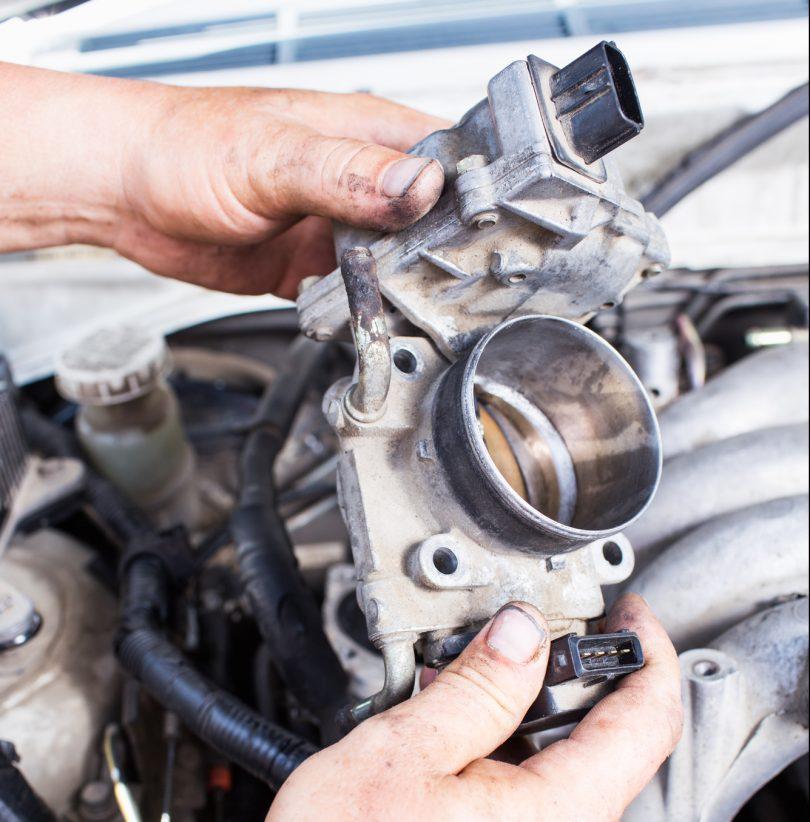 bad idle air control valve