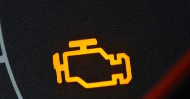 check engine light flashing