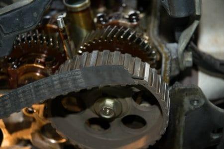 broken timing belt