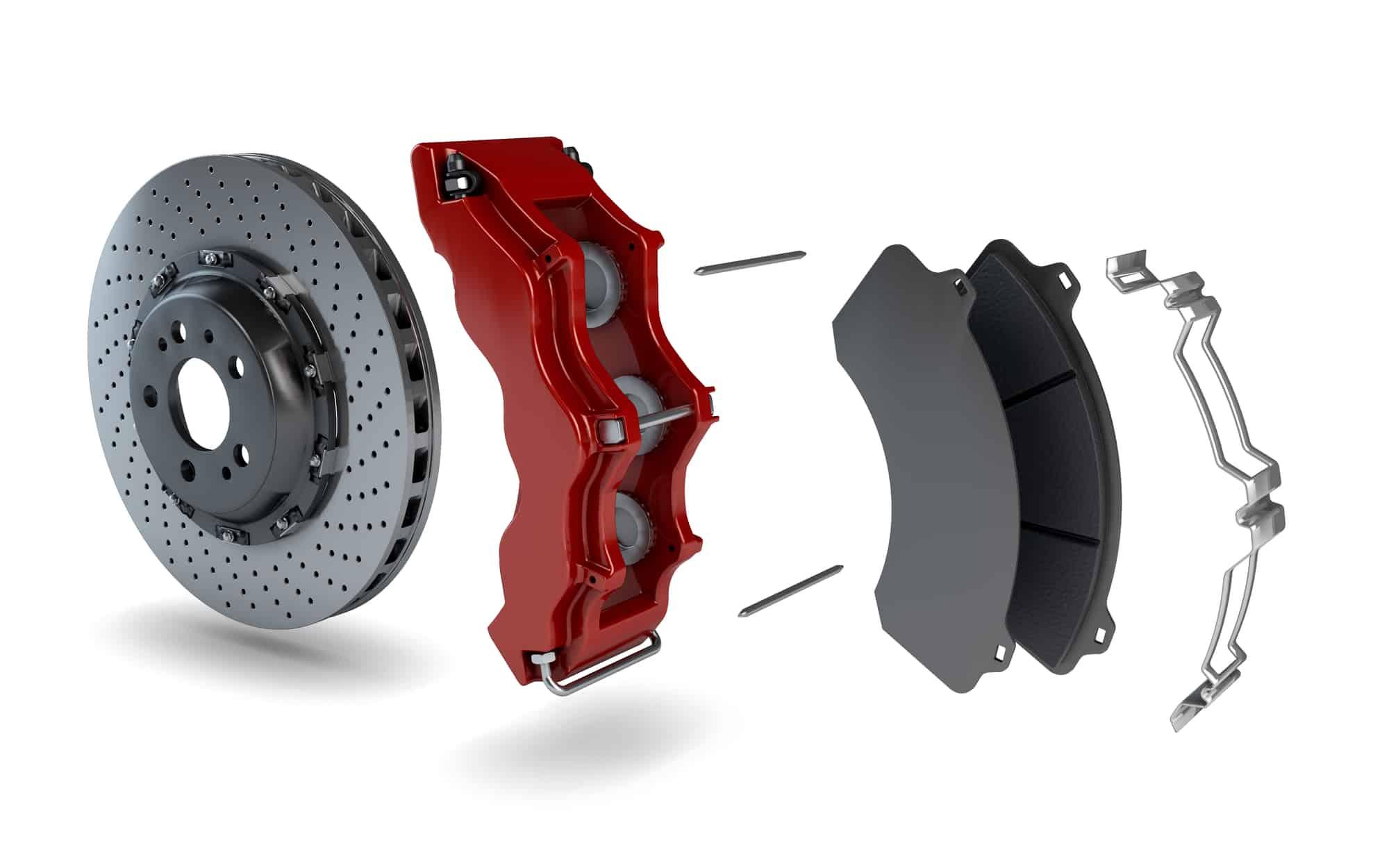 ceramic vs semi metallic brake pads