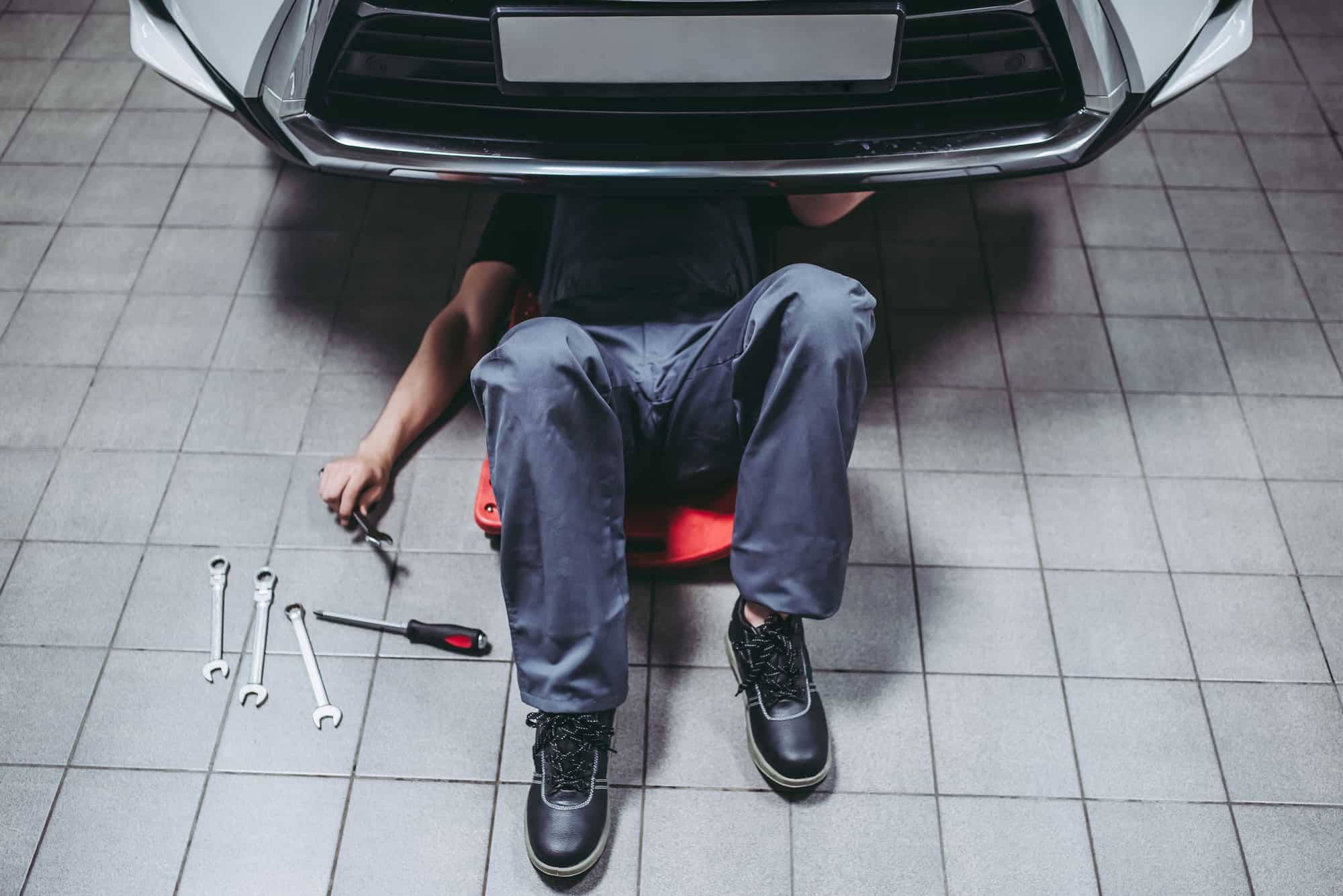 servicing your car yourself