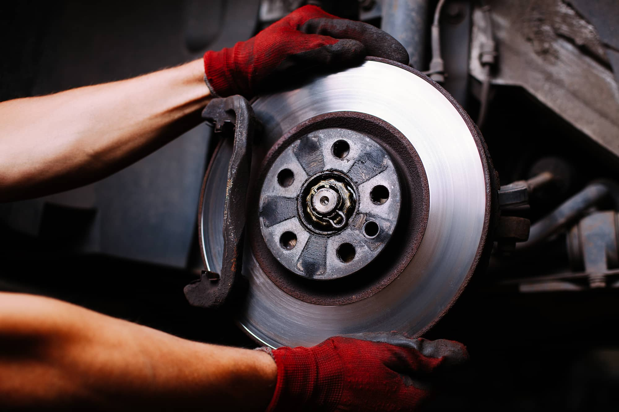 check brake pads and rotors
