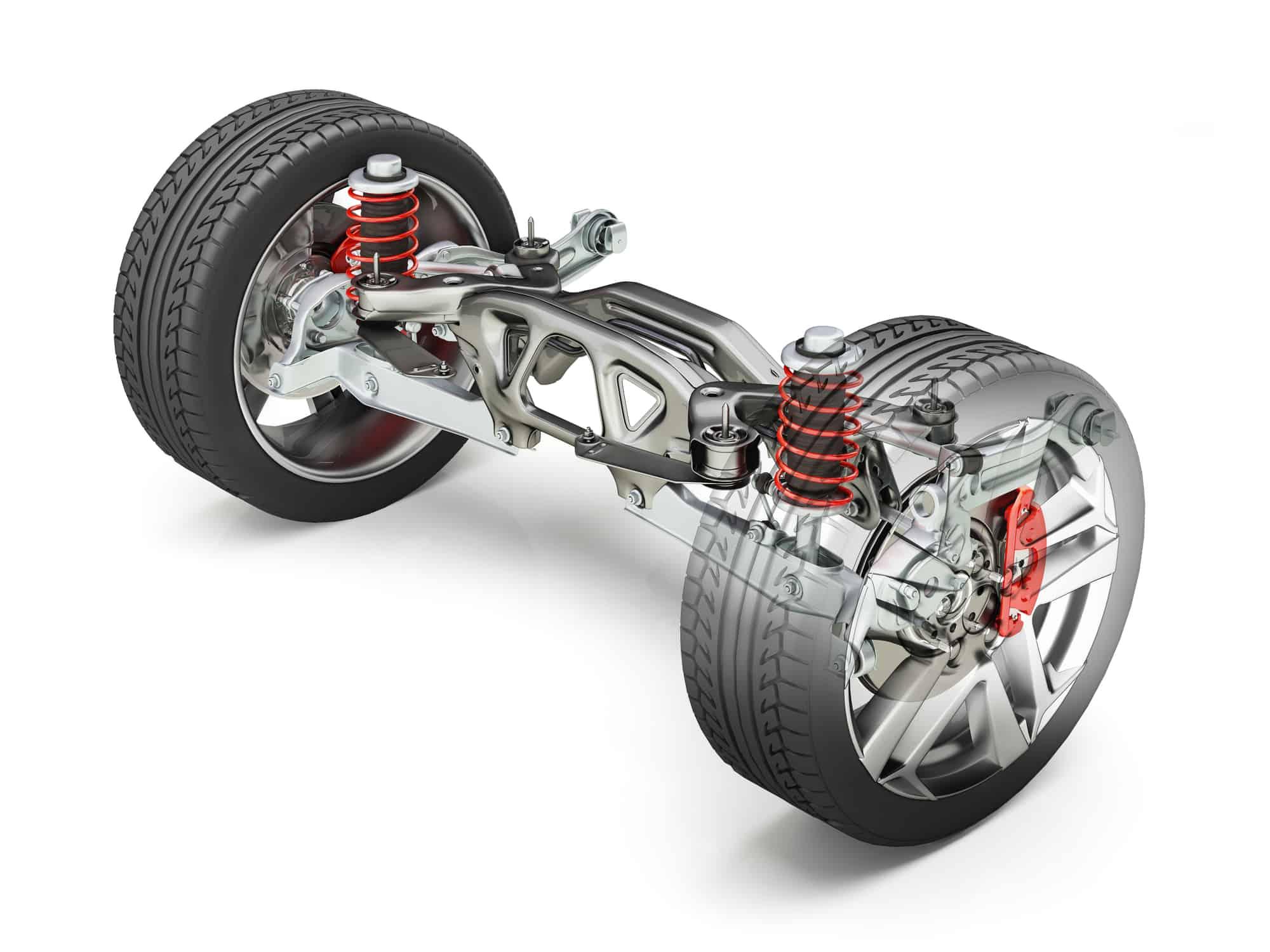 worn car suspension bushings