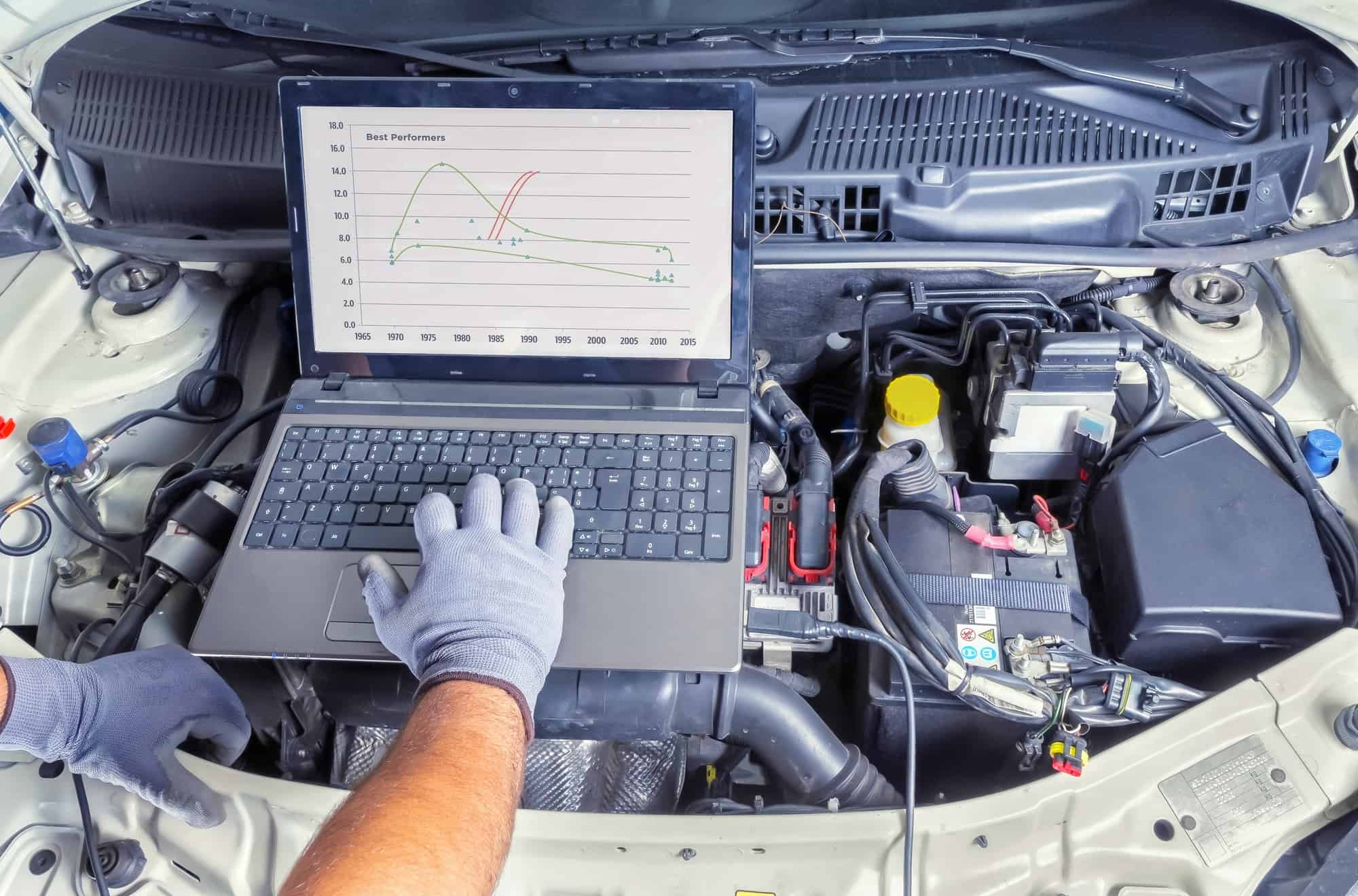 symptoms of a bad engine control module