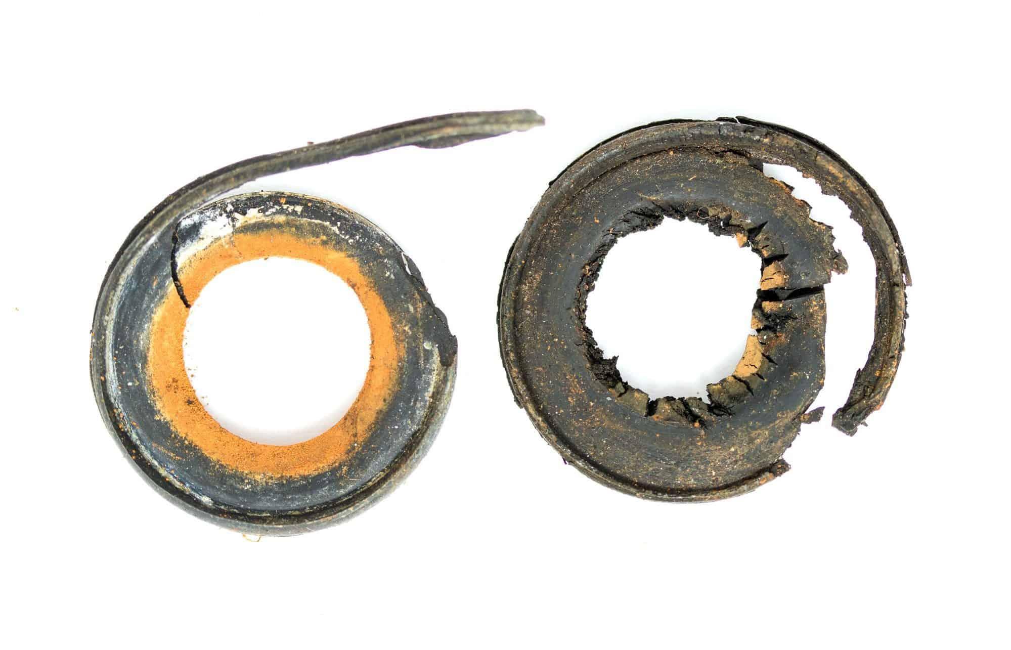 old rubber gasket