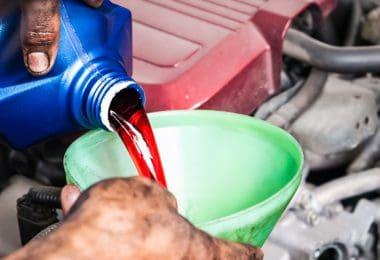 transmission fluid flammable